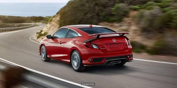 Honda Civic SI Rear View