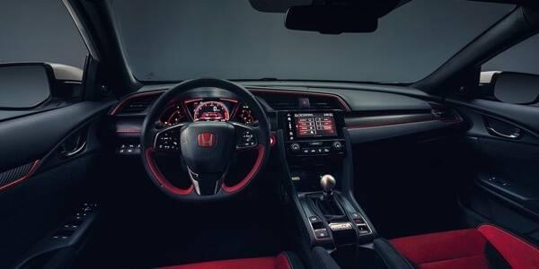 Honda Civic Type R interior features