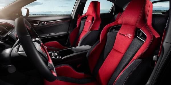 Honda Civic Type R interior seating