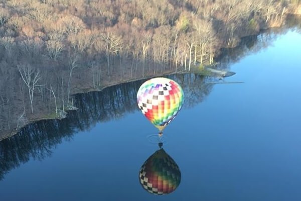 Hot Air Balloon Ride in Action