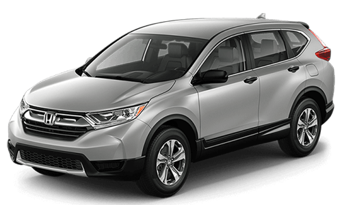 2017 Honda CR-V white background