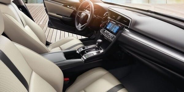 2017 Honda Civic EX-L interior design