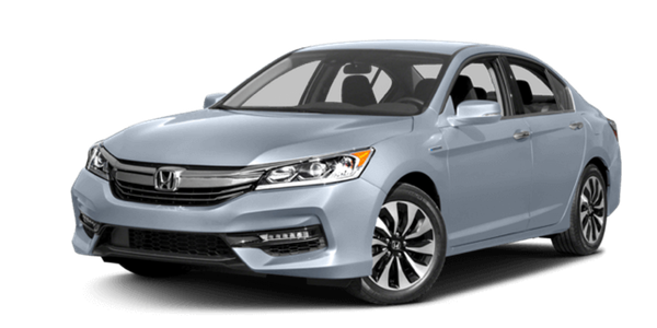 2017 Honda Accord Hybrid white background