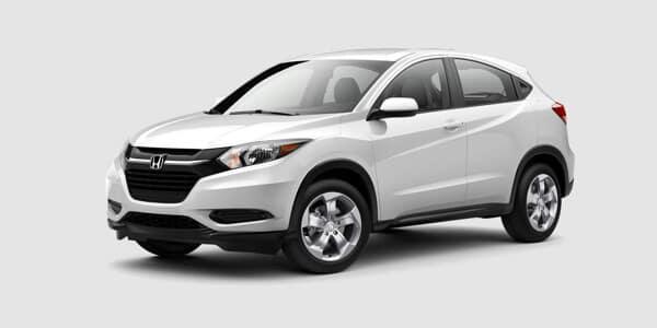 2018 Honda HR-V EX white exterior