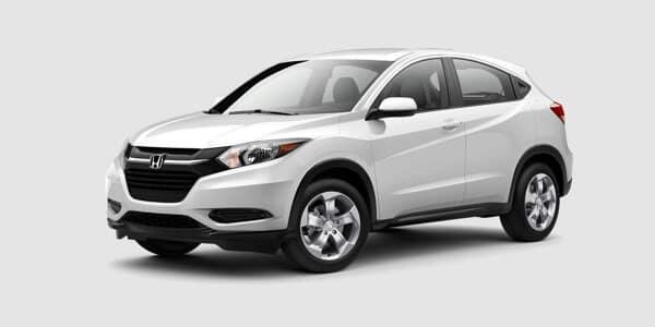 2018 Honda HR-V LX white exterior