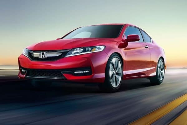 2017 Honda Accord Coupe red exterior model