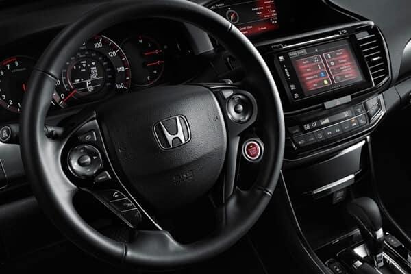 2017 Honda Accord Coupe front interior