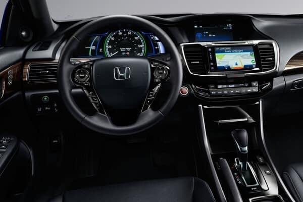 2017 Honda Accord Hybrid front interior