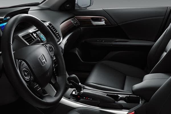 2017 Honda Accord Sedan front interior