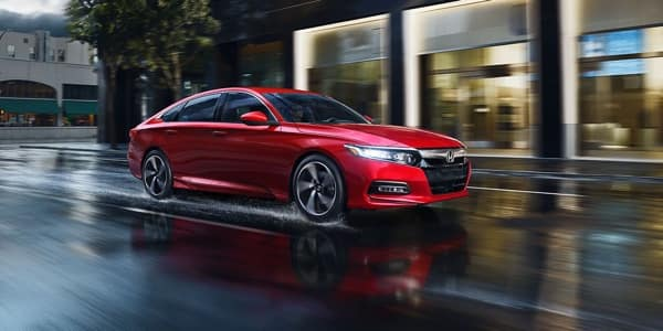 2018 Honda Accord red exterior model