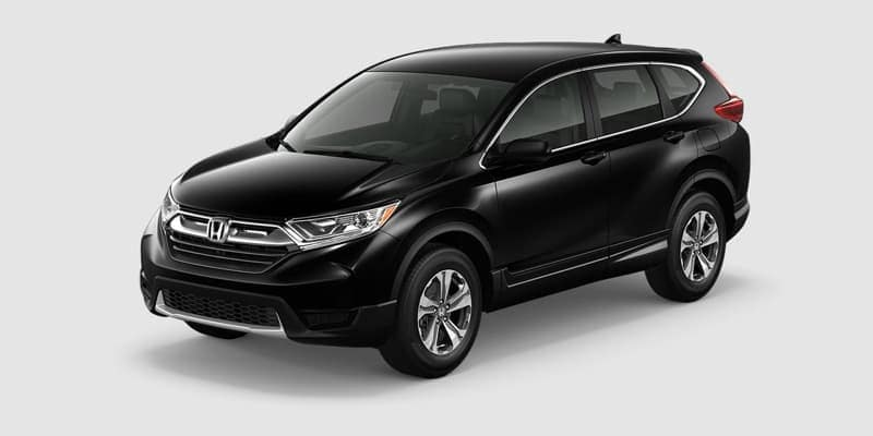 2018 Honda CR-V LX AWD white background