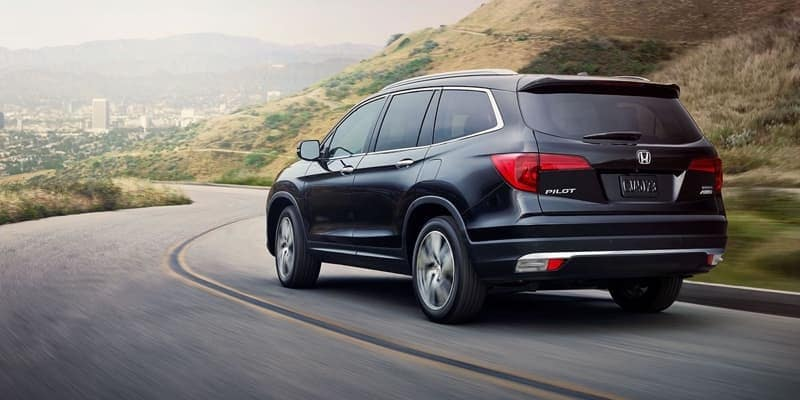 2018 Honda Pilot rear view
