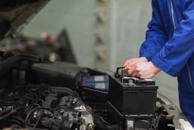 charging a car battery
