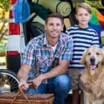 Family Traveling with Dog