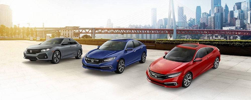 Honda Civic Sedan, Coupe, and Hatchback