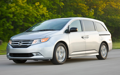 best used minivan