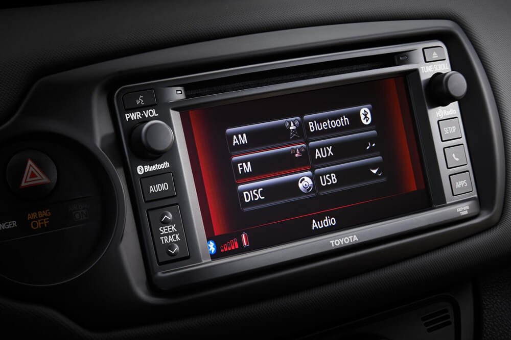 2016 Toyota Yaris Etune Radio
