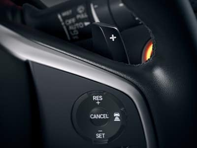 2018 Honda Civic Hatchback Paddle Shifters