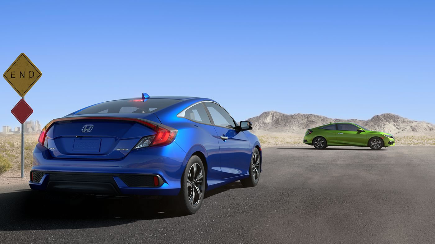 2016 Honda Civic Coupe 1
