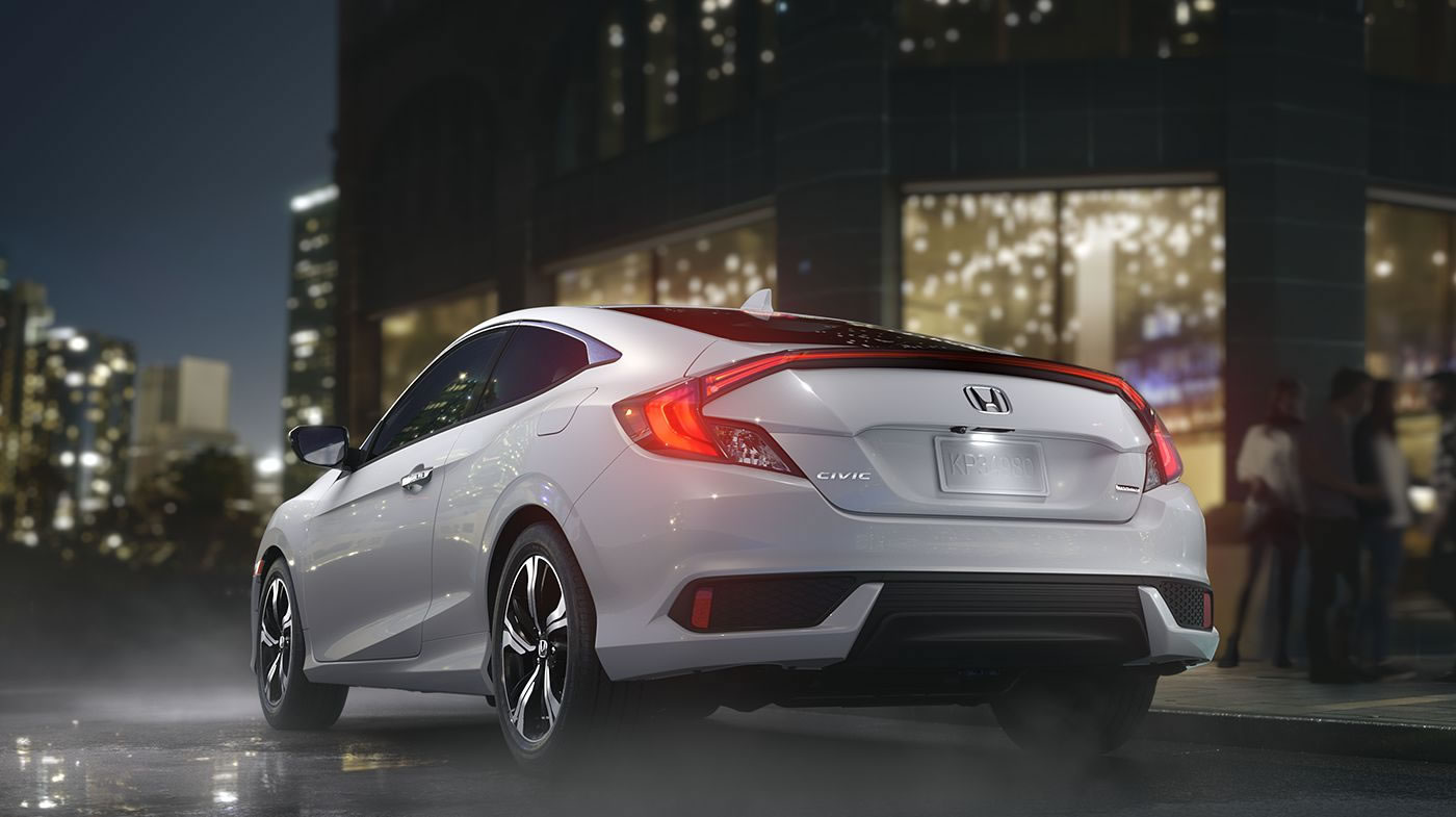2016 Honda Civic Coupe 3