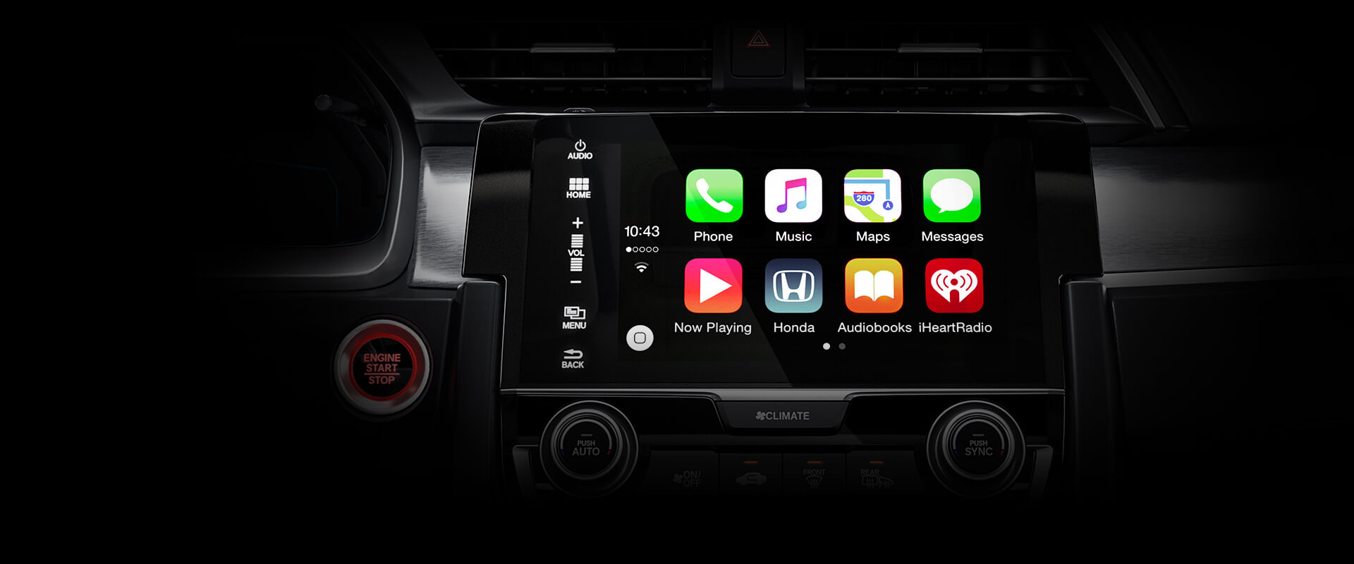 2016 Honda Accord Sedan Apple Car Play