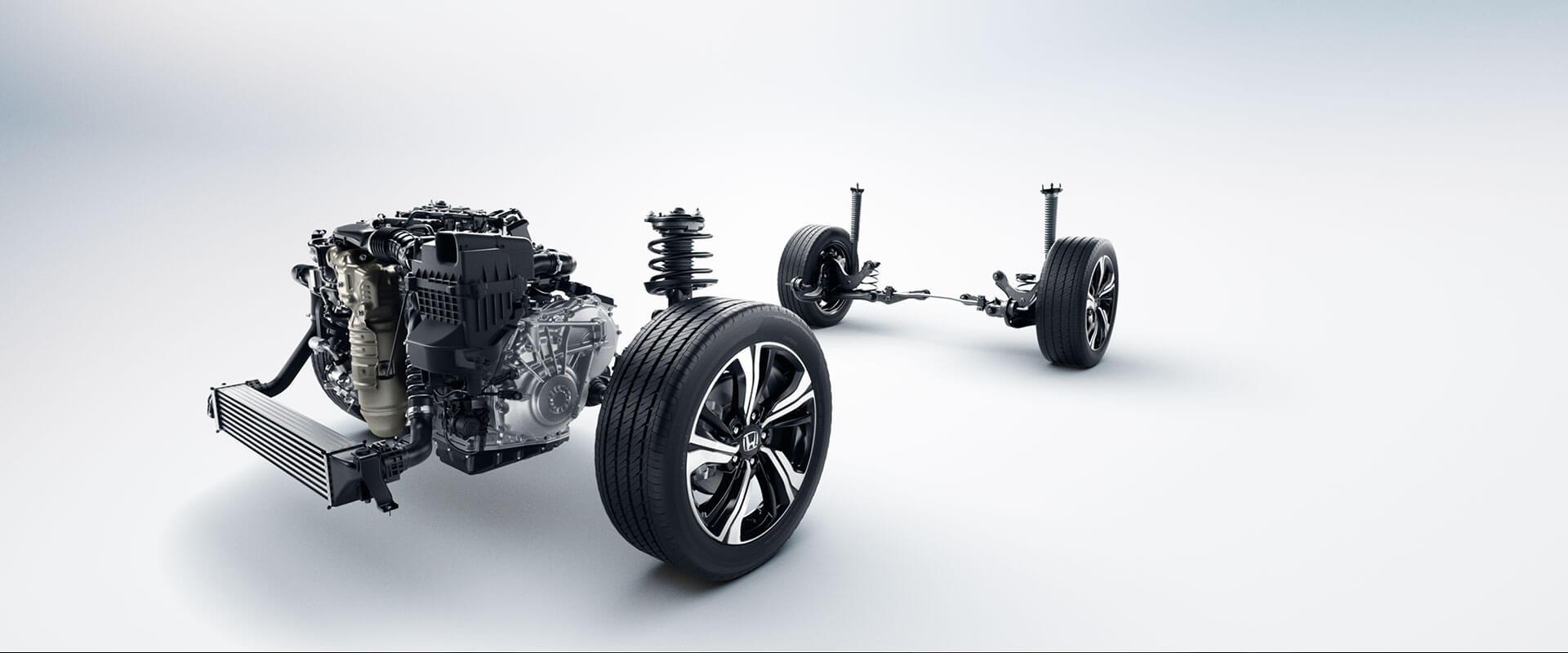 2016 Honda Civic engine suspension