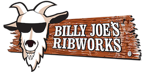 Logo for Billy Joe's Ribworks restaurant