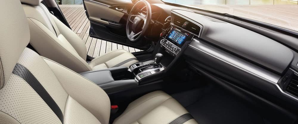 2017 Honda Civic front interior