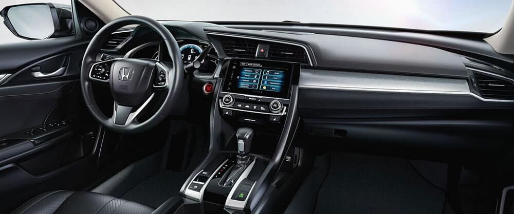 2017 Honda Civic interior features
