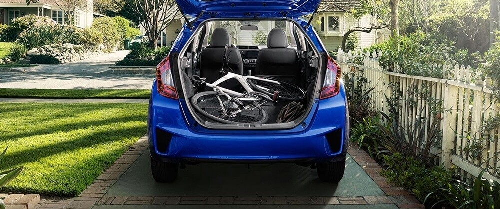2017 Honda Fit cargo space