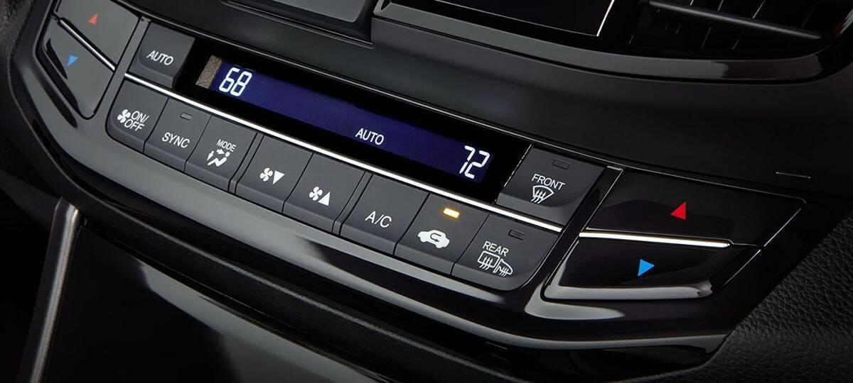 2017 Honda Accord Climate Control