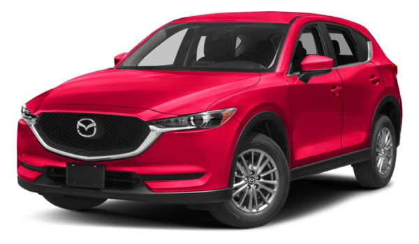 2017 Mazda CX-5 white background
