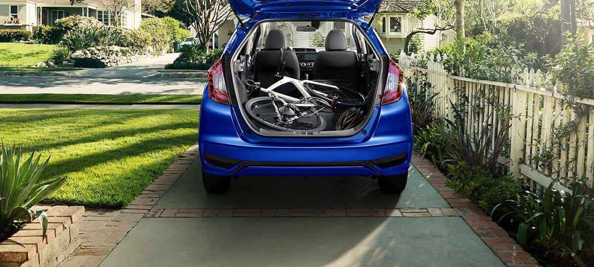 2018 Honda Fit cargo space