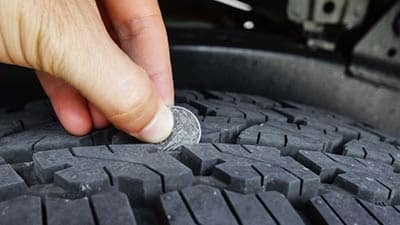 Checking Tire Threads