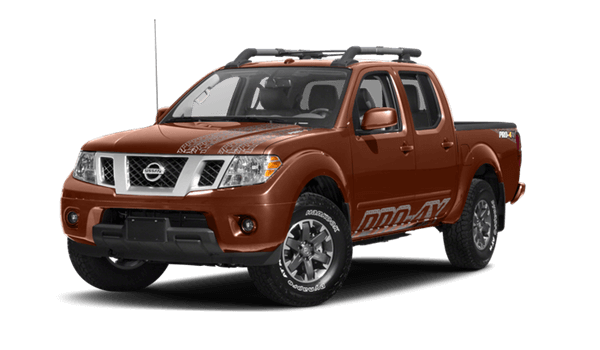 2017 Nissan Frontier white background