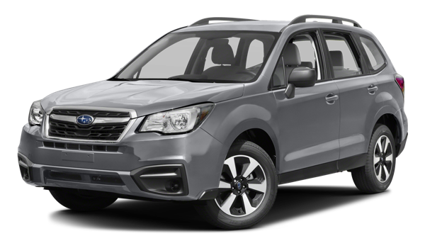 2017 Subaru Forester white background