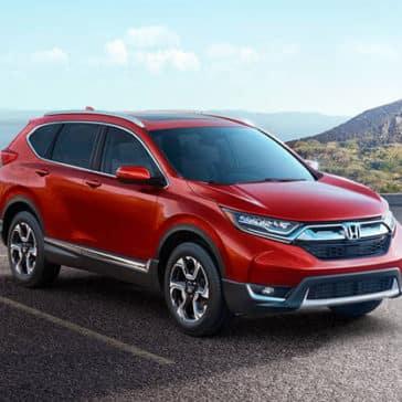 2018 Honda CR-V red exterior
