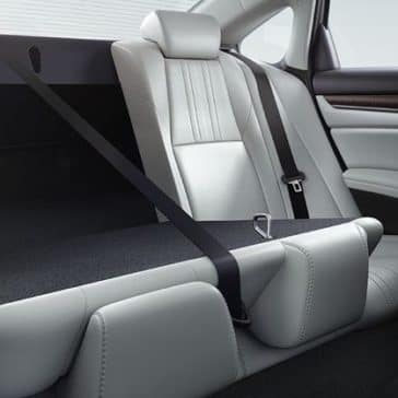 2018 Honda Accord rear seating