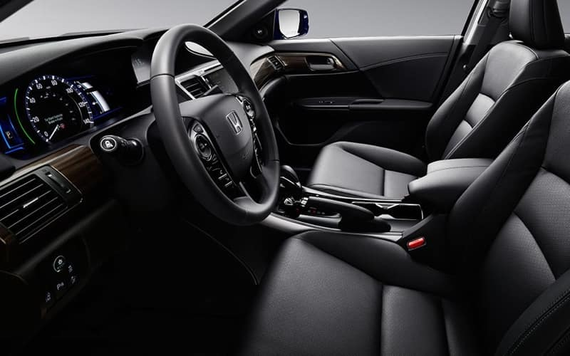 2017 Honda Accord Hybrid Front Interior