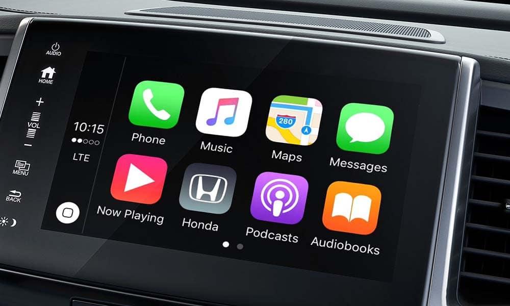 2018 Honda Pilot entertainment features