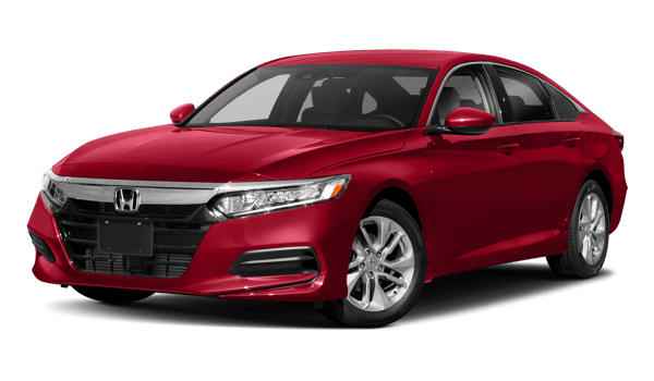 2018 Honda Accord Sedan white background