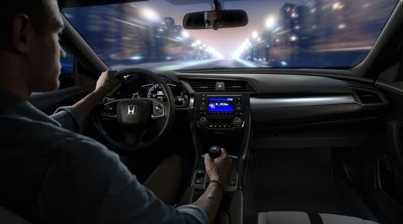 2018 Honda Civic Coupe front interior