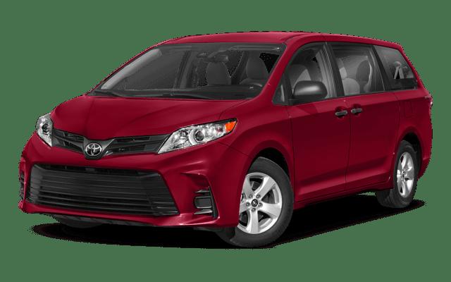 2018 Toyota Sienna white background