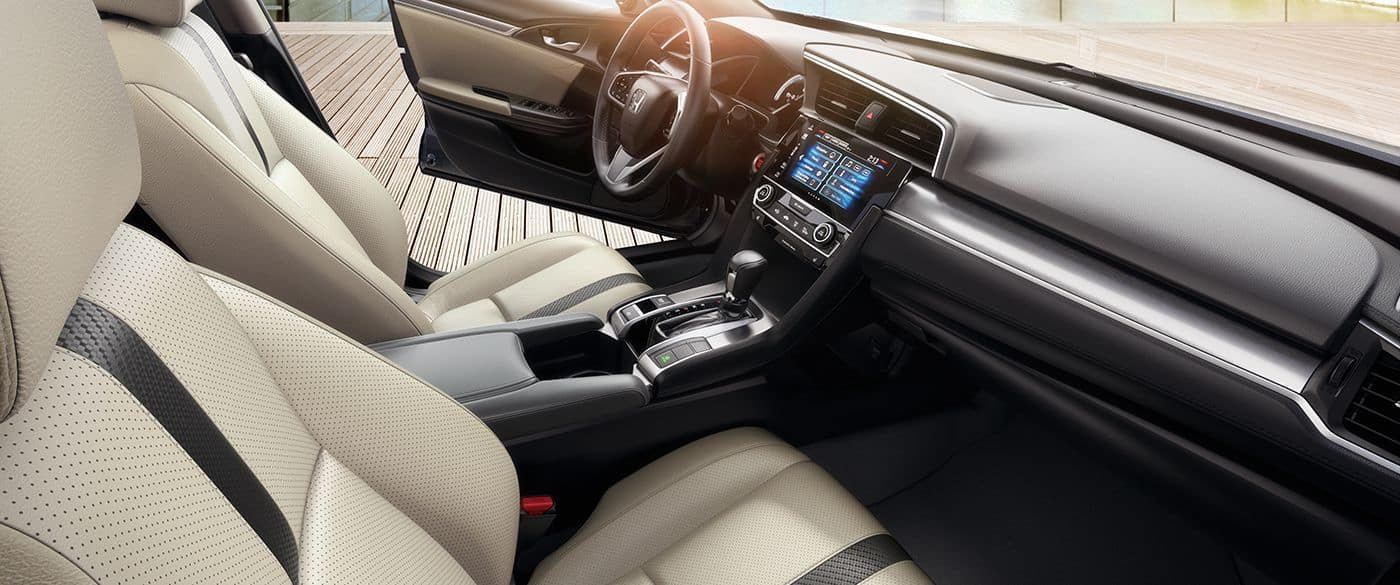2018 Honda Civic Sedan front interior