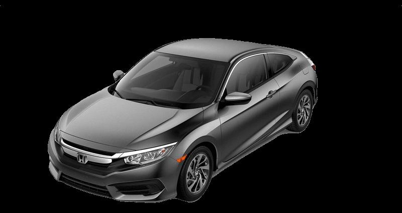 2018 Honda Civic Coupe white background
