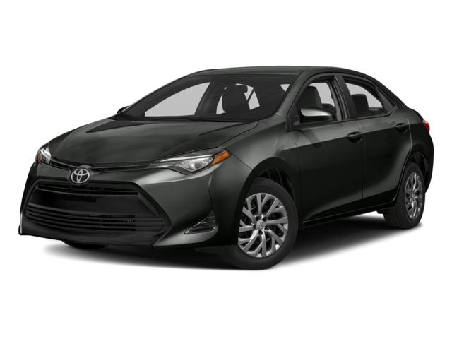 Black 2018 Toyota Corolla