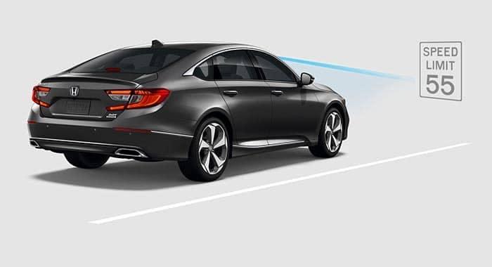 2018 Honda Accord Traffic Sign Recoginition