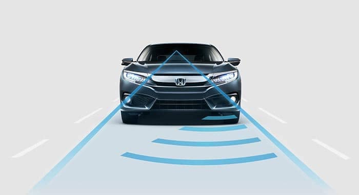 2018 Honda Civic Sedan Adaptive Cruise Control