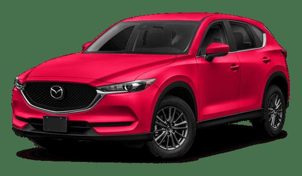 2018 Mazda CX-5 white background