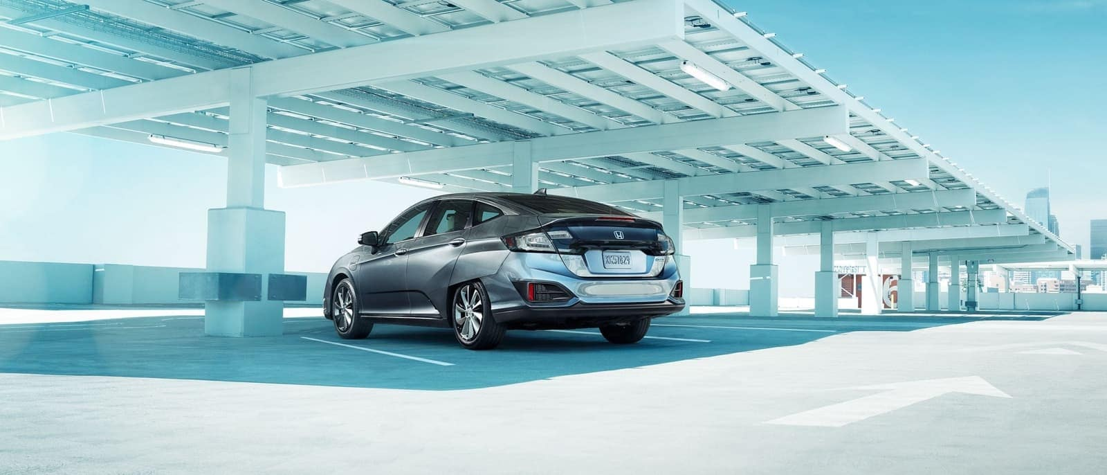 2018 Honda Clarity Electric parked